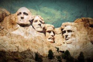 monuments, Mount Rushmore, Mountain, Filter, Presidents