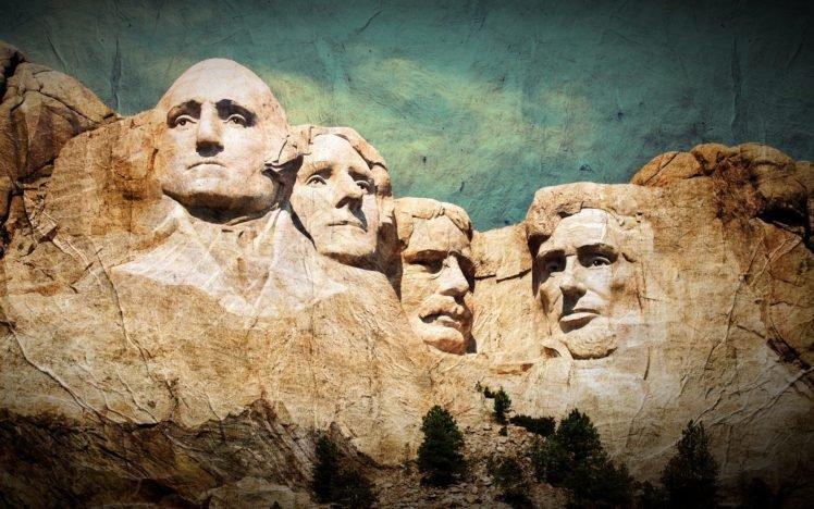 monuments, Mount Rushmore, Mountain, Filter, Presidents HD Wallpaper Desktop Background