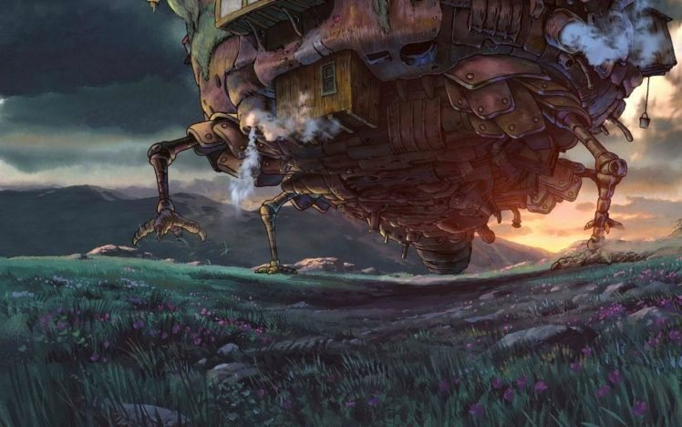 Howls Moving Castle Hd Wallpapers Desktop And Mobile Images Photos