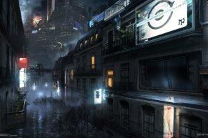 city, Remember Me, Concept art