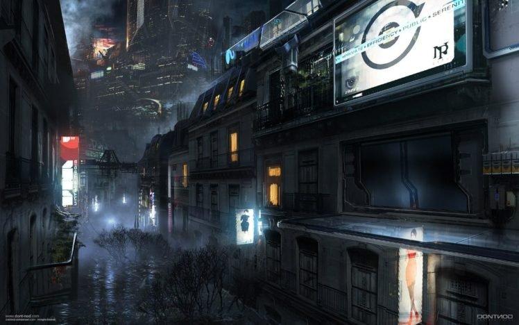 city, Remember Me, Concept art HD Wallpaper Desktop Background