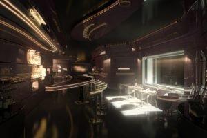 futuristic, Bar