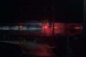 train, Railway crossing