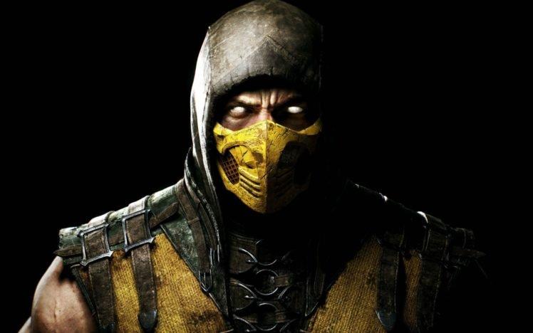 Mortal Kombat, Scorpion (character) HD Wallpaper Desktop Background