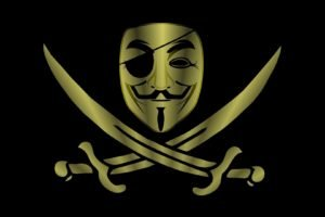 Anonymous, Piracy