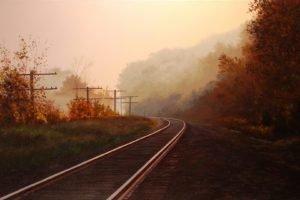 railway, Painting