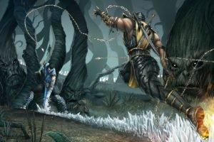 Mortal Kombat, Sub Zero, Scorpion (character)