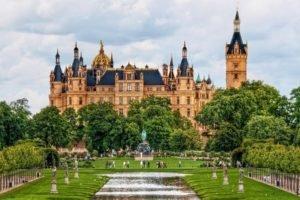 palace, Schwerin Palace, Germany