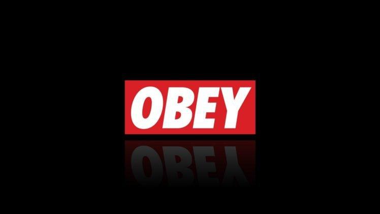 obey, Red, Black, Brand, Logo HD Wallpaper Desktop Background