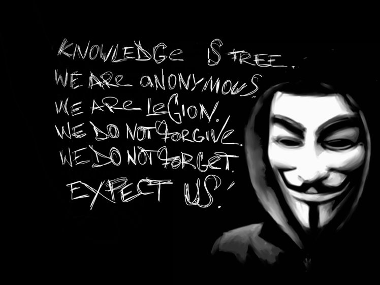 Anonymous HD Wallpaper Desktop Background