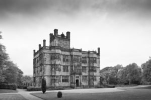 monochrome, Architecture, Gawthorpe Hall