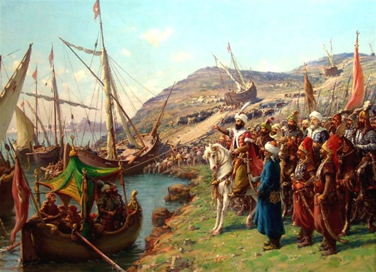Ottoman Empire Turkish Fatih Sultan Mehmetii Mehmet