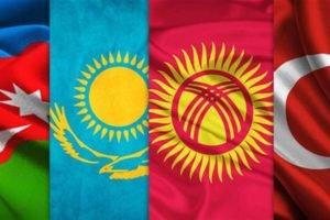 flag, Brothers, Turan, Turkish, Turkey, Azerbaijan, Kazakhstan, Kyrgyzstan