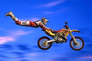 motocross, Jumping