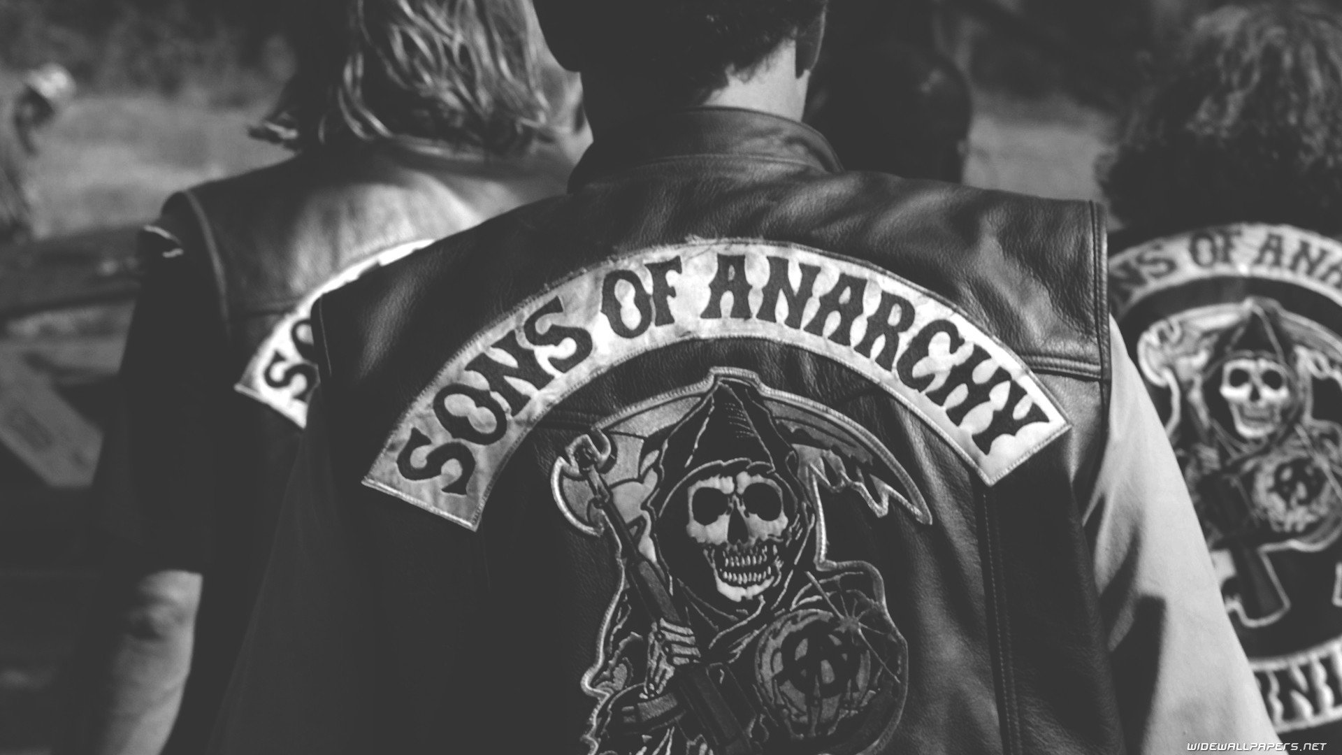 Sons Of Anarchy Monochrome Hd Wallpapers Desktop And Mobile