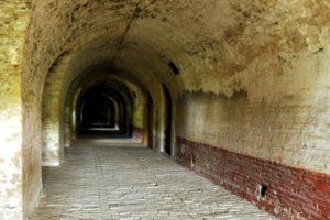 abandoned, Architecture, Monastery, Bricks, Hallway, Indoors, Shadow, Arch