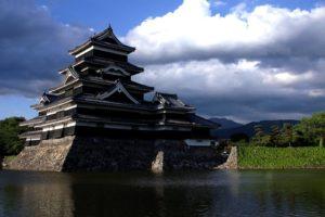 castle, Japan