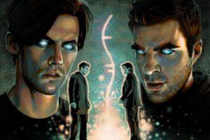 heroes, Sylar, Gabriel Gray, Zachary Quinto, Peter Petrelli, Milo Ventimiglia, Symbols, Godsend, Helix (TV series)