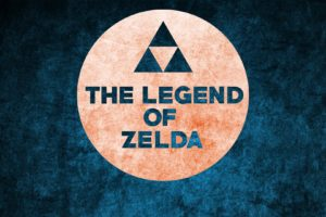 Zelda, The Legend of Zelda, Nintendo, Simple, Simple background, Blue