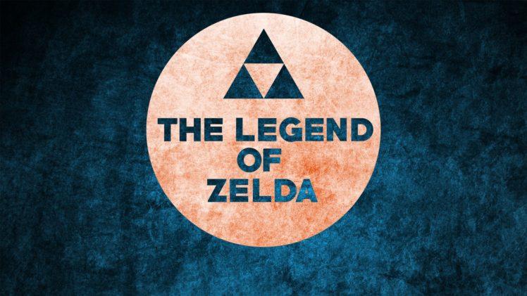 Zelda, The Legend of Zelda, Nintendo, Simple, Simple background, Blue HD Wallpaper Desktop Background