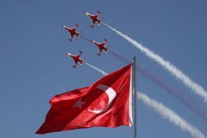 Turkish Stars, Türk Yıldızları, Turkey, Turkish, Flag
