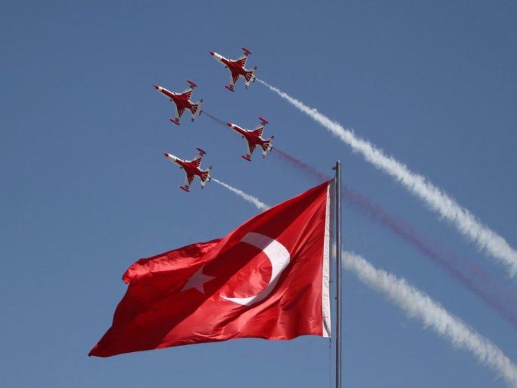 Turkish Stars Turk Yildizlari Turkey Flag HD Wallpaper Desktop Background