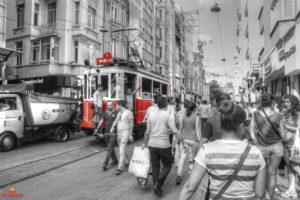 İstiklal Caddesi, Istanbul, Turkey, Taksim