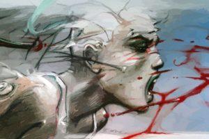 drawing, Blood, Enki Bilal