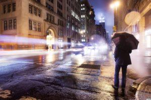 city, Umbrella