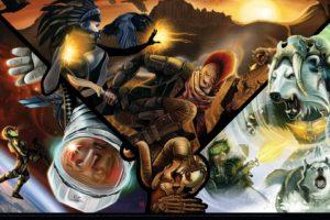 Shadowrun, Cyberpunk, Wolf, Raven