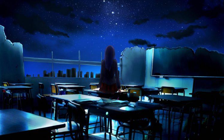 cityscape, Night HD Wallpaper Desktop Background