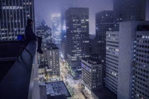 cityscape, Night