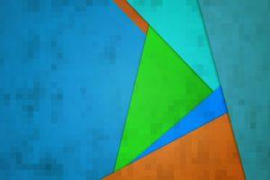 square, Minimalism, Colorful