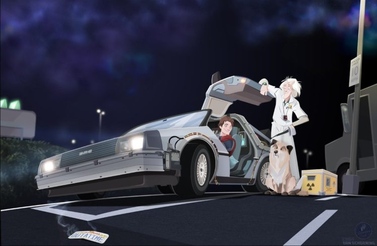 Back To The Future Hd Wallpapers Desktop And Mobile Images