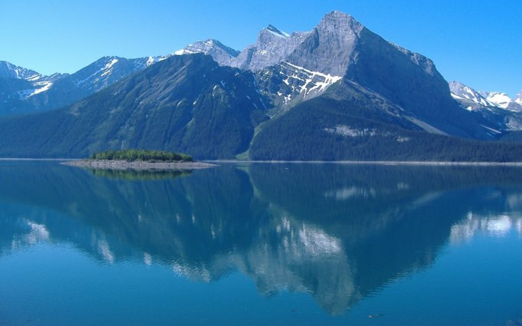 mountain, Reflection HD Wallpaper Desktop Background