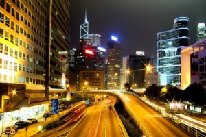 cityscape, Long exposure, Hong Kong, Building