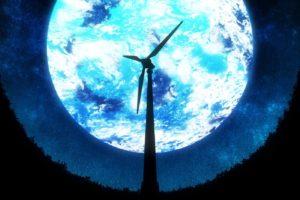 moon, Wind turbine