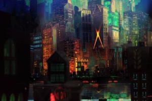 cityscape, Transistor