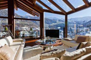 indoors, Mountain, House, Telescope