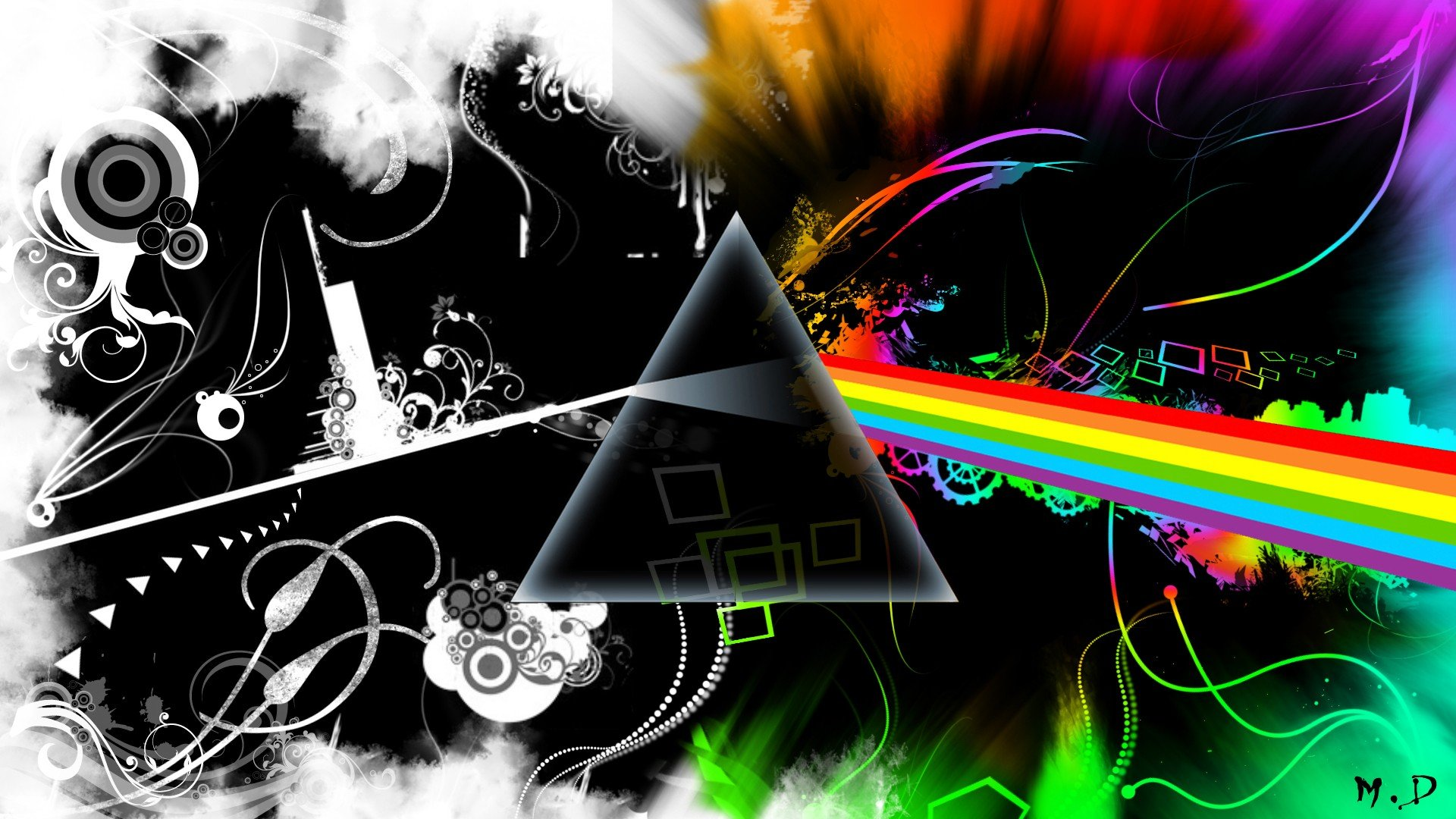 Pink Floyd Dark Side Of The Moon Hd Wallpapers Desktop And