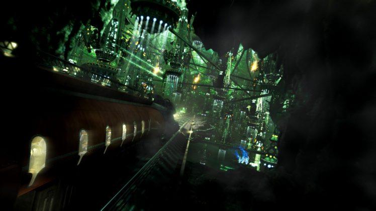 train, Final Fantasy XIII HD Wallpaper Desktop Background
