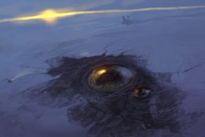 horror, Ice, Eyes