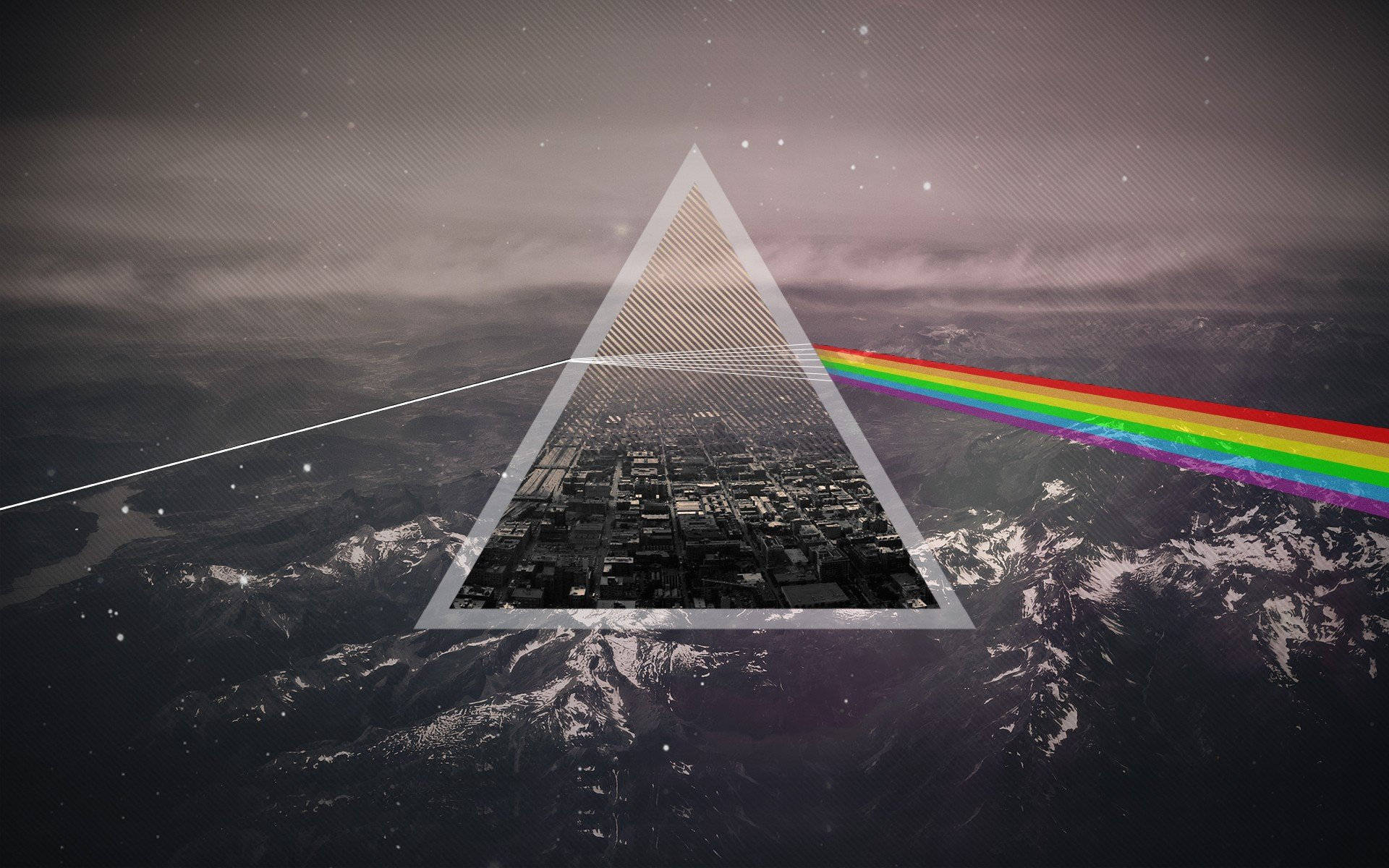 Pink Floyd Dark Side Of The Moon Hd Wallpapers Desktop And