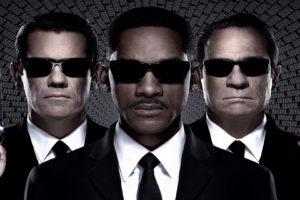 Men In Black 3, Will Smith, Josh Brolin, Suits, Sunglasses