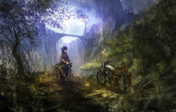 bridge, Kinos Journey HD Wallpaper Desktop Background