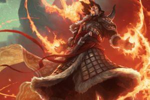 Magic: The Gathering, Wizard, Fire, Magic
