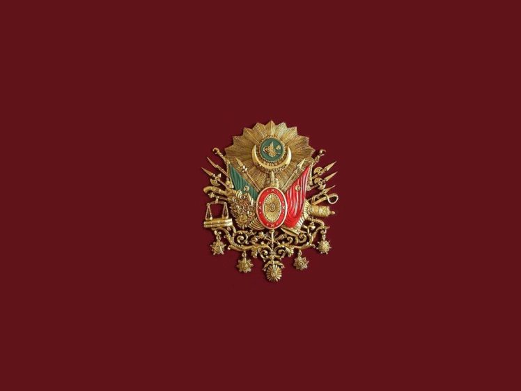 Ottoman Empire Turkish Flag Bozkurt HD Wallpaper Desktop Background