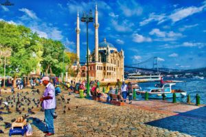 picture frames, Turkey, Istanbul, Islam, Islamic architecture, HDR, Ortaköy Mosque