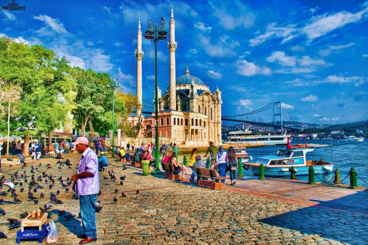 Picture Frames Turkey Istanbul Islam Islamic Architecture HDR Ortakoy Mosque