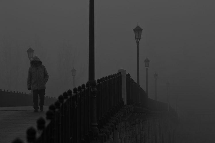 mist, Bridge, Architecture, City HD Wallpaper Desktop Background